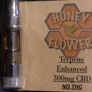 Honey Flower Collective - Cartridges - Organna Gold or Honey Flower .5 CBD Terpines Vape 300MG CBD