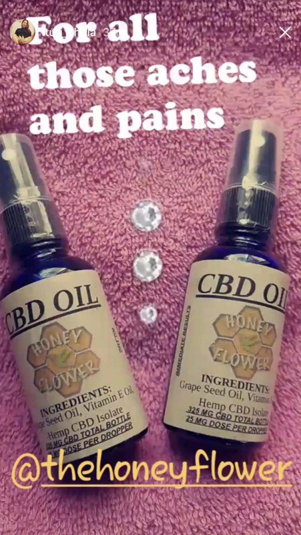 Honey Flower Collective - Grape Seed Oil (RSO) - CBD Oil w/ Dropper (1 Ounce)