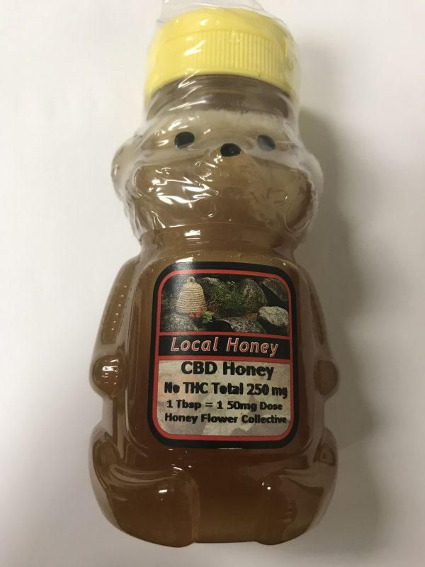 Honey Flower Collective - Honey - 100% CBD Infused Honey - 2 Ounces